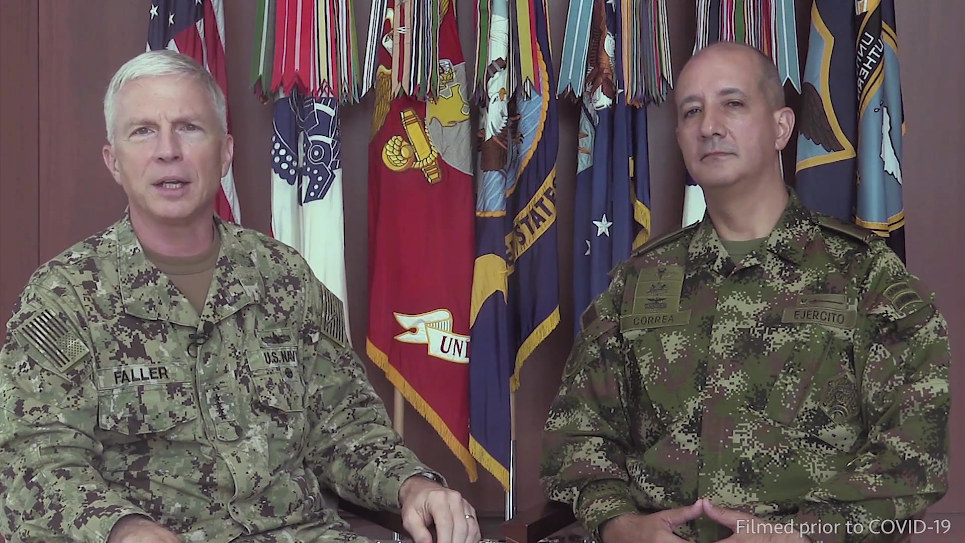 Video with comments from Adm. Craig Faller and Colombia Brig. Gen. Juan Carlos Correa Consuegra, about the importance of strengthening partnerships in Latin America and the Caribbean.