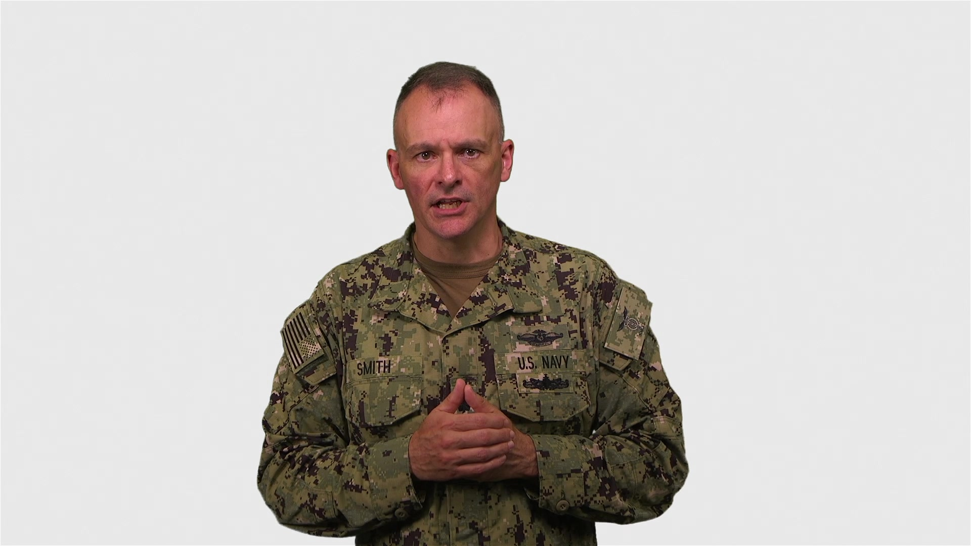 U.S. Navy Commander Wayne R. Smith, Public Health Emergency Officer for Marine Corps Installations East and Director of Medical Services for Naval Medical Center Camp Lejeune, shares information on the importance of staying alert and remaining proactive to prevent COVID-19, May 12, 2020. Cmdr. Smith discusses the gradual resumption of non-critical services, a phased approach to reopening services at Naval Medical Center Camp Lejeune, and reminds everyone it is important to continue exercising health safety measures. For more information, visit the Centers for Disease Control and Prevention website at http://www.cdc.gov/coronavirus. (U.S. Marine Corps video by Cpl. Alexia Lythos)