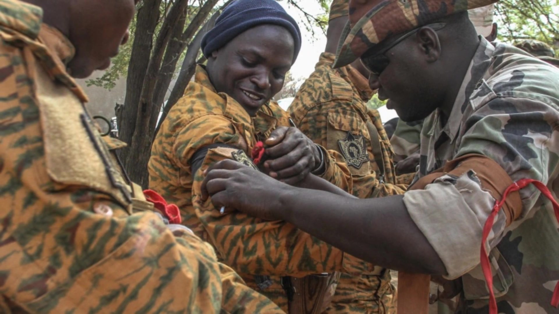 The International Health Specialist Program has led global health engagements during the annual Flintlock exercises since 2005. The capabilities developed during these engagements continue to be utilized in real world scenarios.