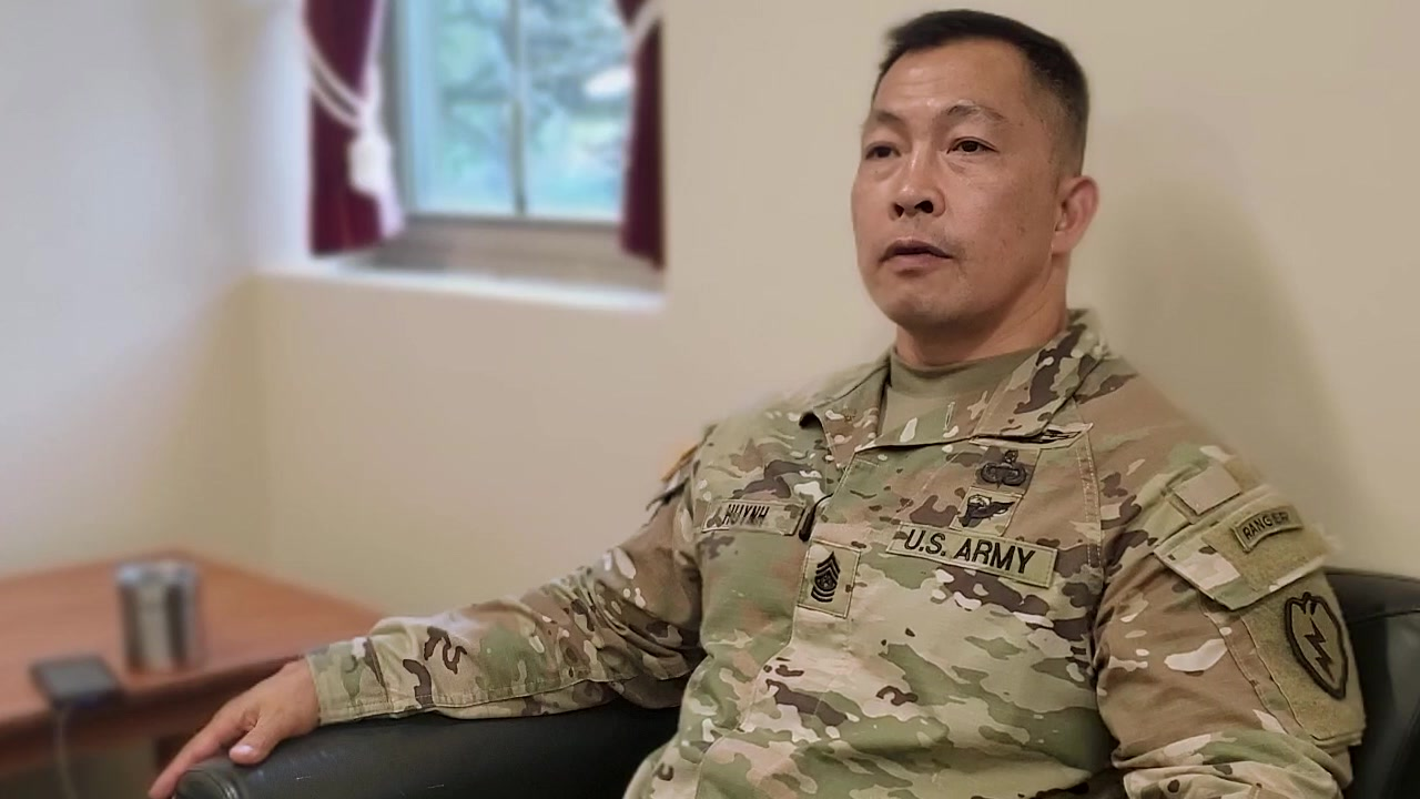 Command Sgt. Maj. Thinh T. Huynh, the command sergeant major for the 3rd Infantry Brigade Combat Team, 25th Infantry Division. talks about immigrating to the U.S. from wartorn Vietnam and how he started off in the U.S. with nothing and rose to become a brigade command sergeant major as a part of Asian American Pacific Islander Heritage Month 2020.