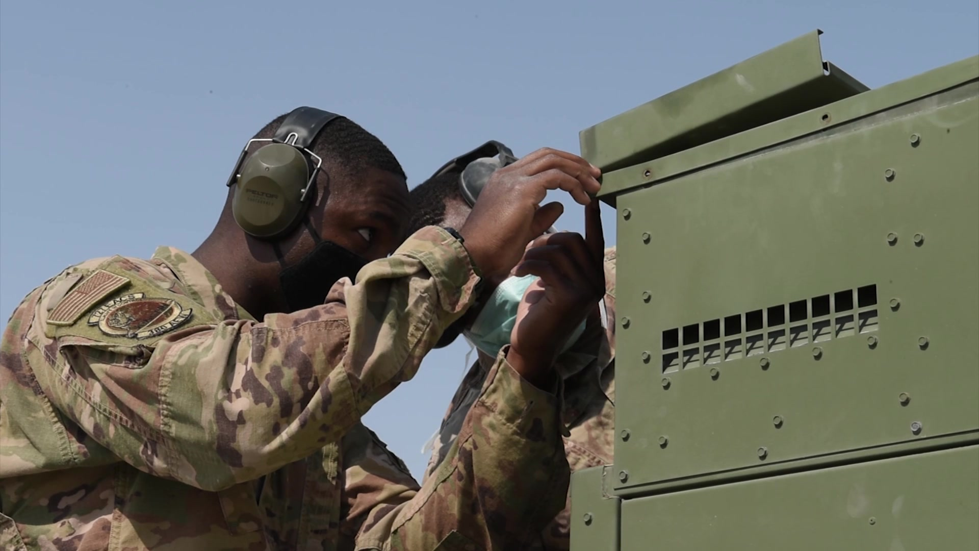 The 727th EACS is a group of Airmen who maintain our radars, monitor our skies and communicate with aircraft conducting missions throughout the U.S. Air Forces Central Command AOR.