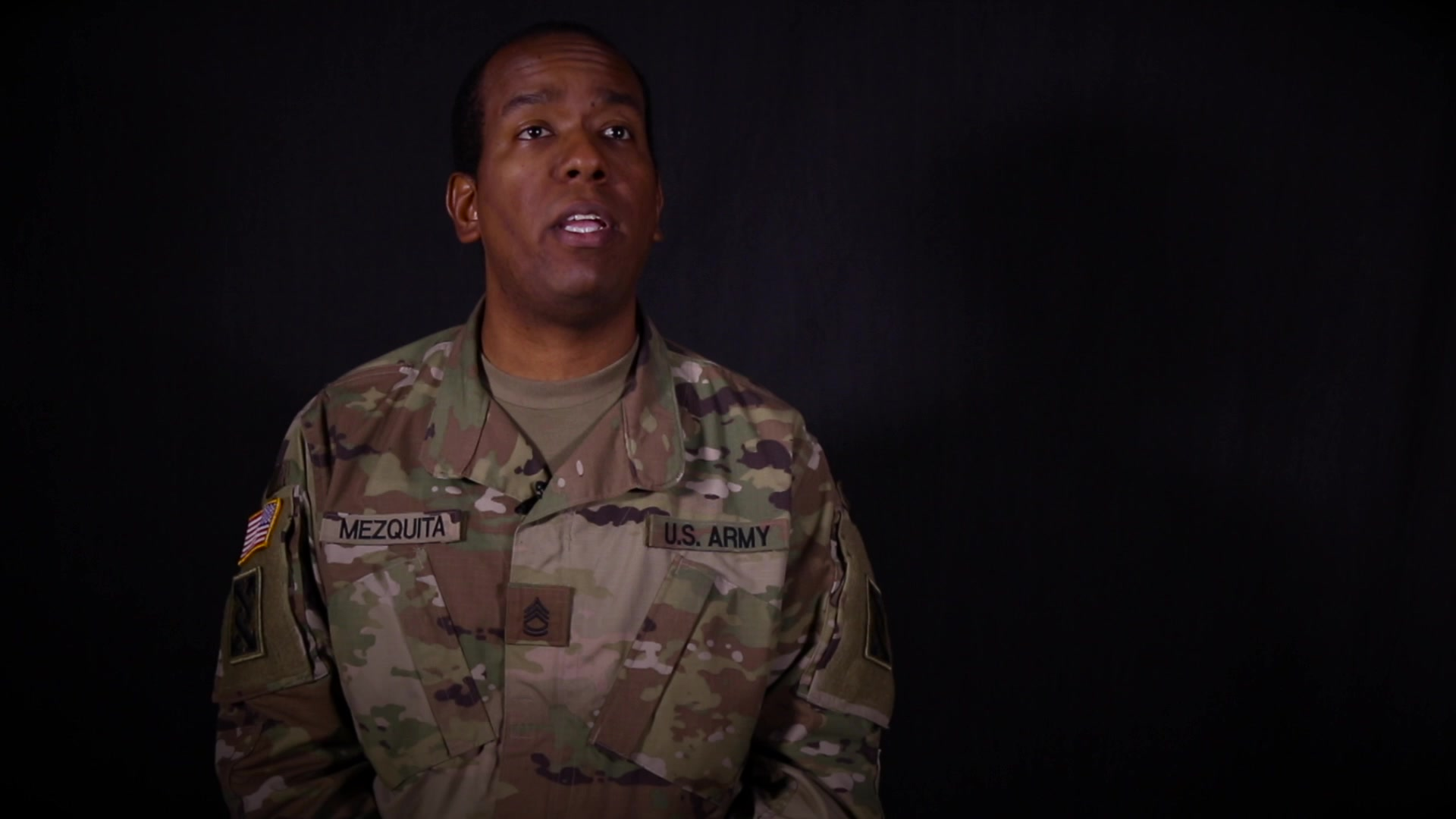 Sgt. 1st Class Christopher Mezquita is Active Guard Reserve Soldier assigned to the 143d Sustainment Command (Expeditionary) in Orlando,FL. In this interview, Sgt. 1st Class Mezquita shares why he joined and continues to serve in the U.S. Army Reserve. (U.S. Army video by Spc. Leon Orange)