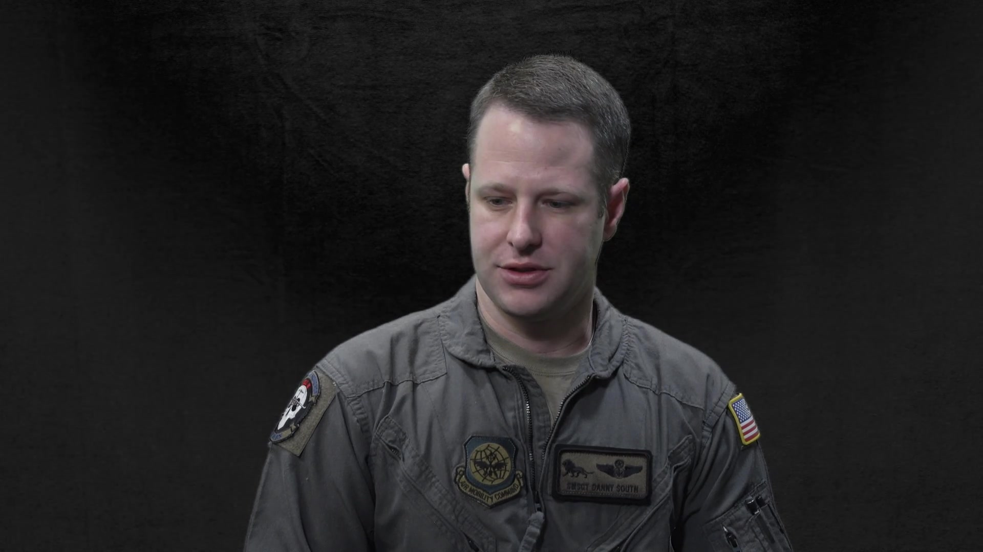 Senior Master Sgt. Danny South is open about the tremendous challenges he and his family have faced in the past few years. He speaks about that experience and how it has helped him become a better leader and a better listener when it comes to supporting his Airmen. (South is an C-17 Evaluator/Loadmaster Squadron Superintendent at JB Charleston.)
