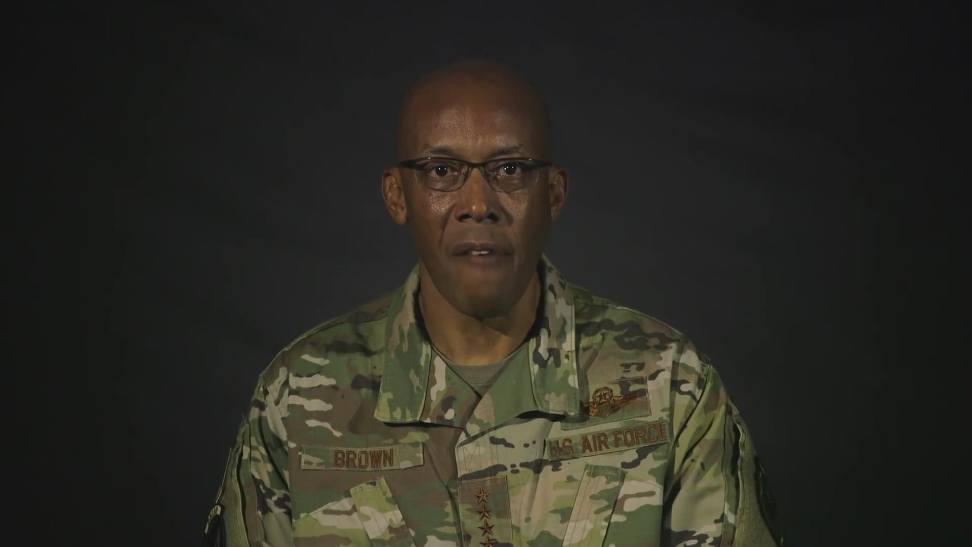 Chief of Staff of the Air Force speaks on diversity