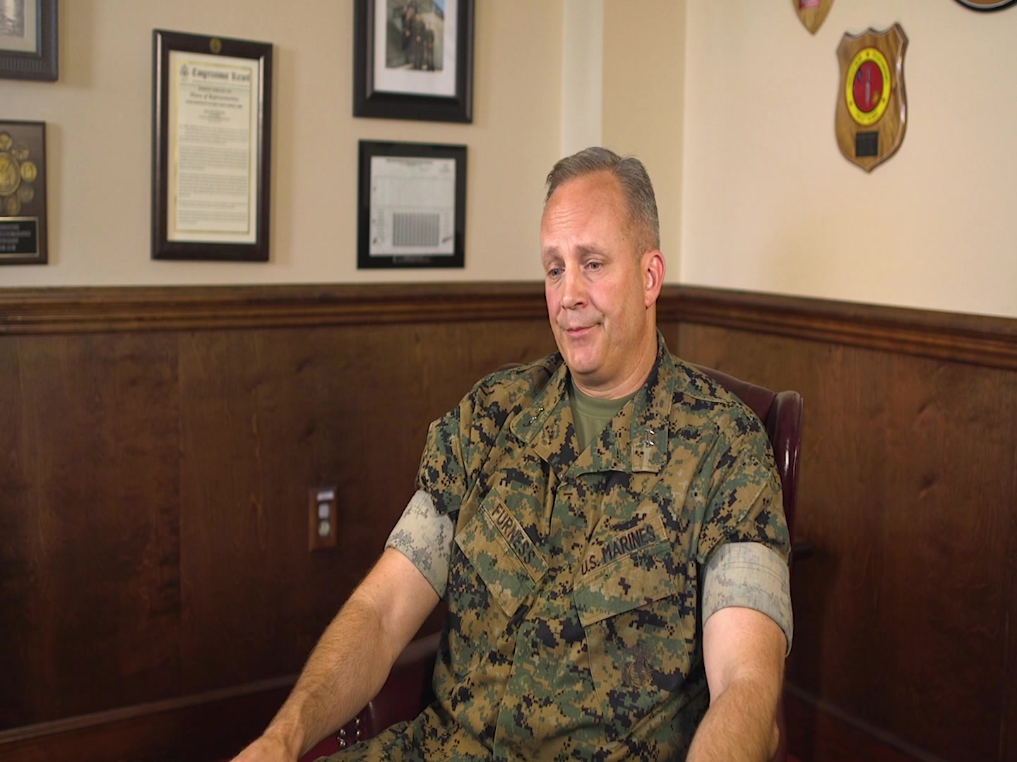 U.S. Marine Corps Maj. Gen. David J. Furness, the Commanding General (CG) of 2d Marine Division (MARDIV), reflects on his initial impressions on becoming the 2d MARDIV CG as part of the series Reflections on Command at Camp Lejeune, North Carolina, May 28, 2020. Reflections on Command is a nine-week video series highlighting Furness' time as the 2d MARDIV CG leading up to his Change of Command in August 2020. (U.S. Marine Corps video by Lance Cpl. Andrew Smith)