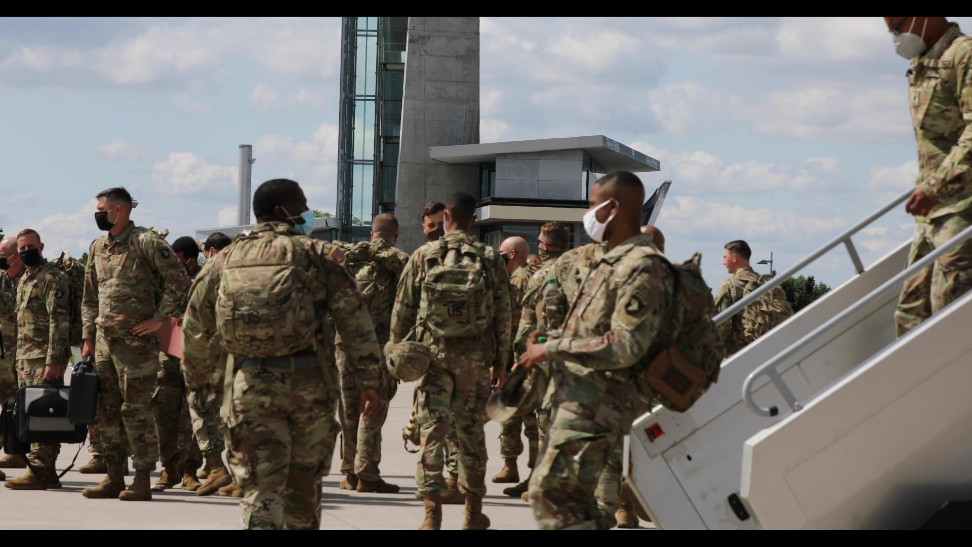 The 101st CAB arrives in Germany to support Atlantic Resolve