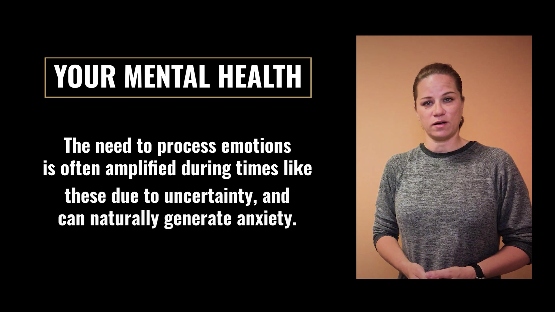 This video reminds the workforce of Marine Corps Logistics Command of the importance that self-care has to well-being during difficult times and offers a few tips on how to maintain balance.