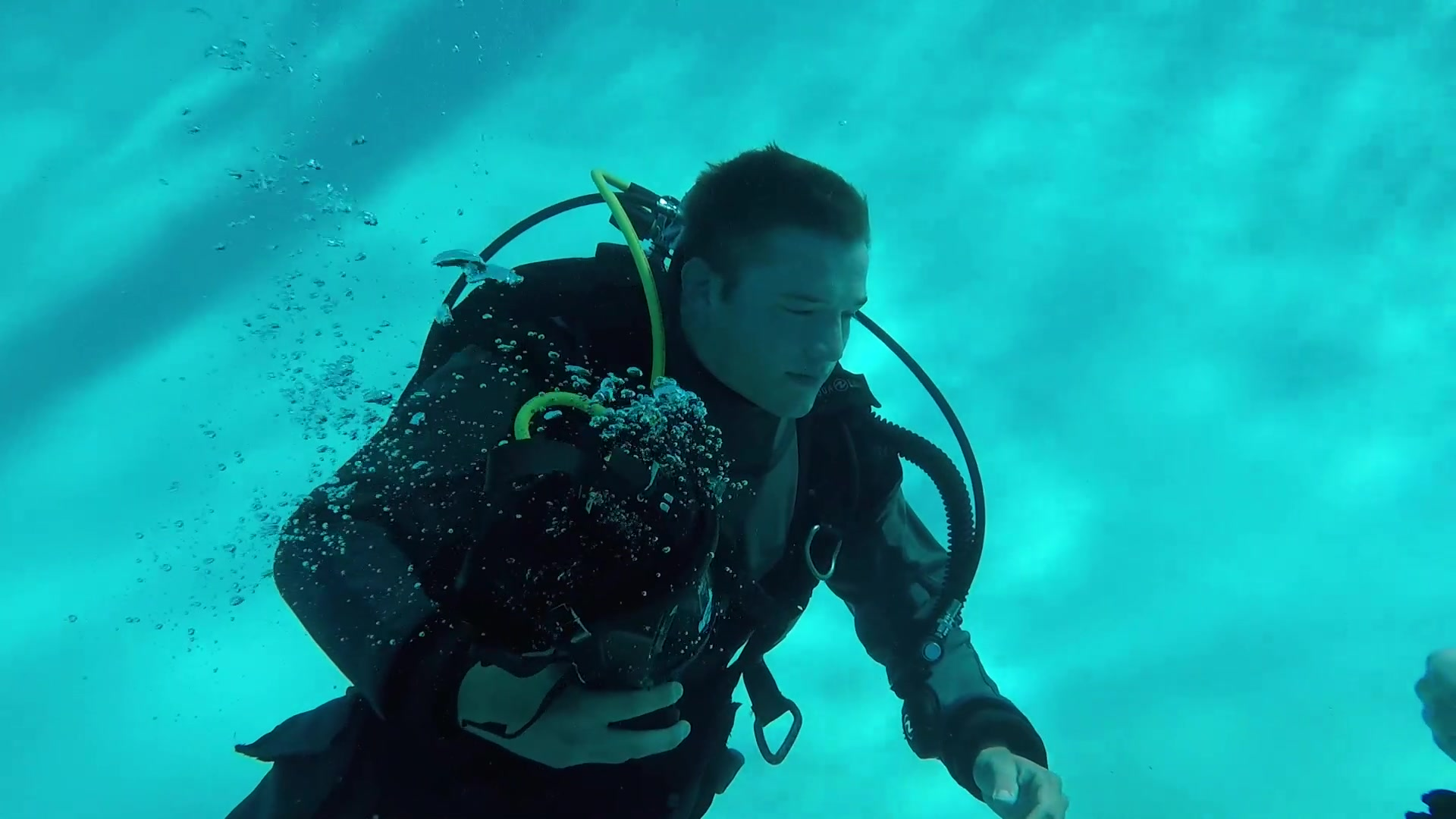 Video of dive recertification during the Combat Team Member Course at Davis-Monthan Air Force Base, Arizona.