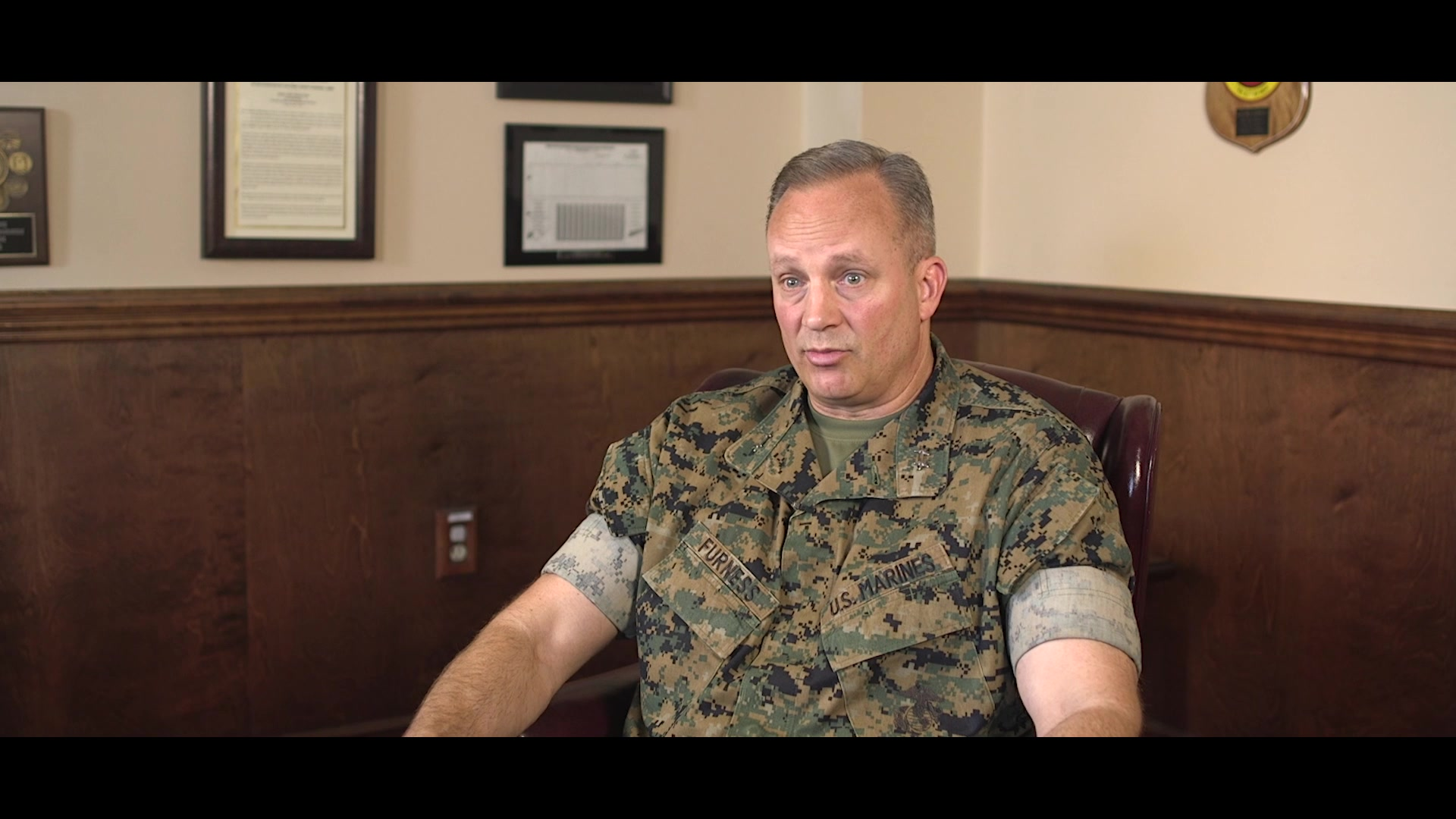 U.S. Marine Corps Maj. Gen. David J. Furness, the Commanding General (CG) of 2d Marine Division (MARDIV), reflects on his creation of the 2d MARDIV Competition Order as part of the series Reflections on Command at Camp Lejeune, North Carolina, May 28, 2020. Reflections on Command is a nine-week video series highlighting Furness' time as the 2d MARDIV CG leading up to his Change of Command in August 2020.