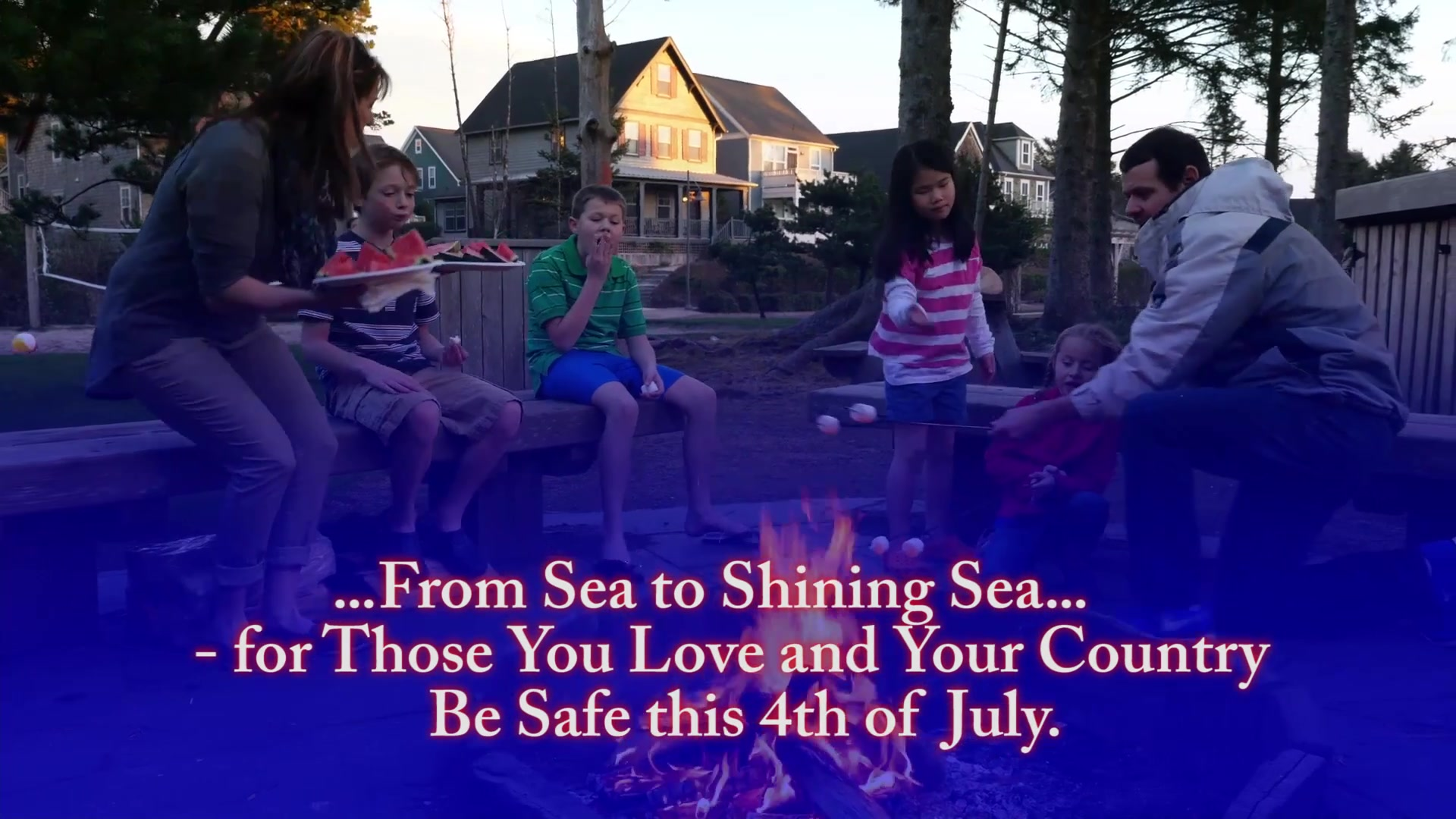 A 4th of July holiday message video from the U.S. Air Force Safety Center