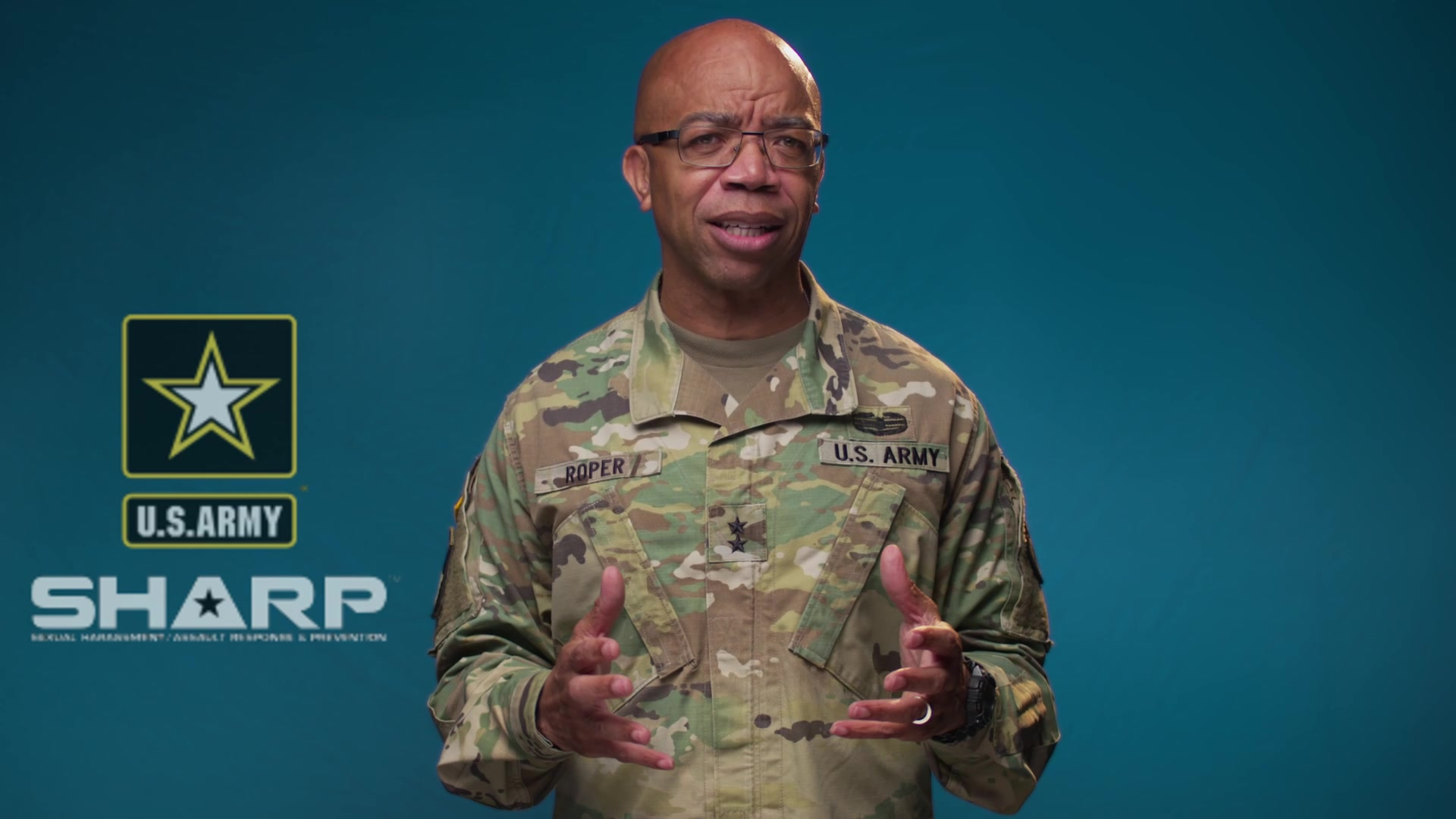 """You are relied upon to demonstrate what right looks like every day, in communities across the nation. ... This month, as we conduct a (Sexual Harassment/Assault Response & Prevention) stand down across the entire Army Reserve, know that we are working together to drive a culture change that ensures every member of this team feels heard. ..."""
