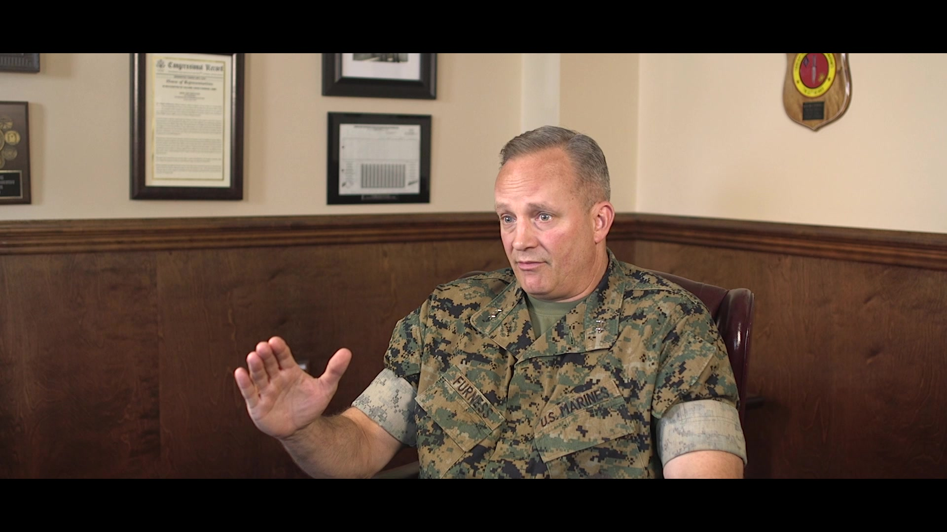 U.S. Marine Corps Maj. Gen. David J. Furness, the Commanding General (CG) of 2d Marine Division (MARDIV), reflects on the changes made to increase the lethality of 2d MARDIV as part of the series Reflections on Command at Camp Lejeune, North Carolina, May 28, 2020. Reflections on Command is a nine-week video series highlighting Furness' time as the 2d MARDIV CG leading up to his Change of Command in August 2020. (U.S. Marine Corps video by Lance Cpl. Andrew Smith)