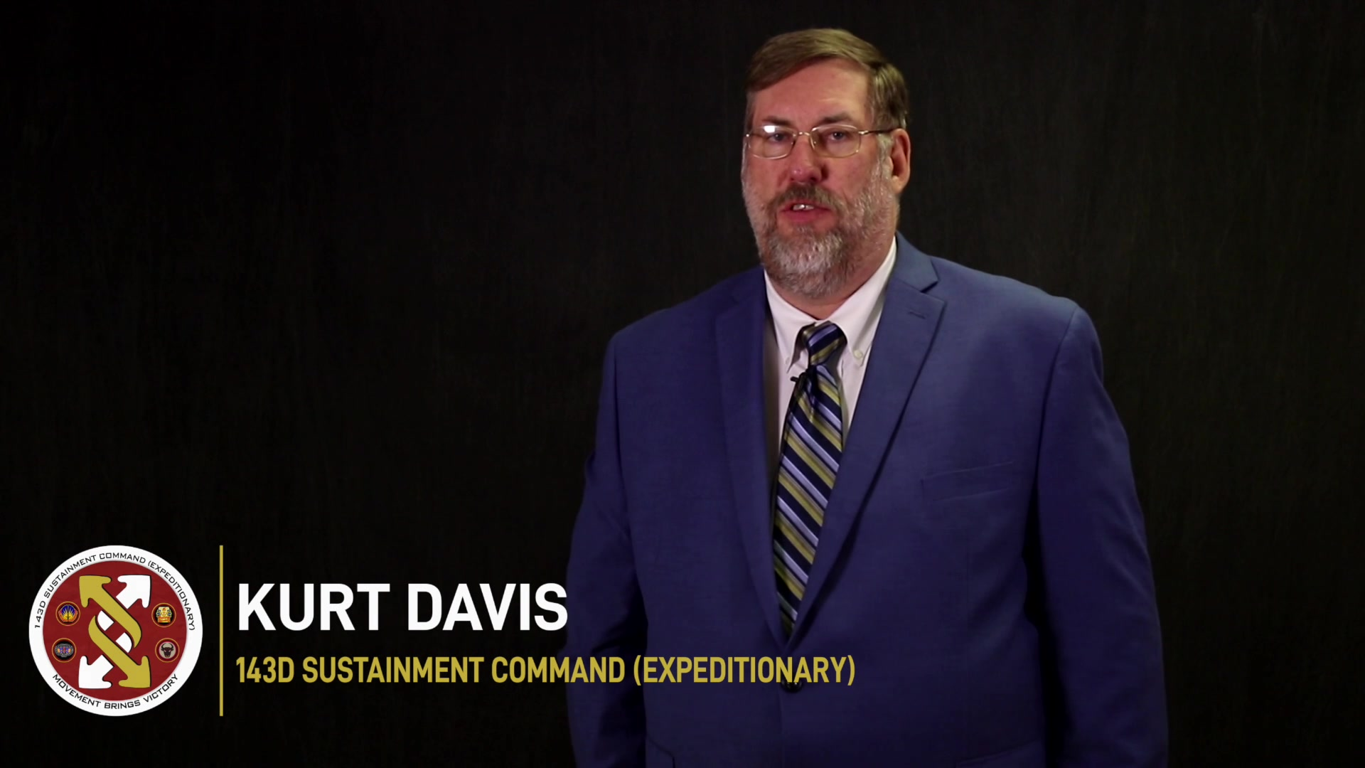 Mr. Kurt Davis of the 143d Sustainment Command (Expeditionary) in Orlando, Fla., shared how his work environment changed during the COVID-19 pandemic. (Army video by Spc. Leon Orange)