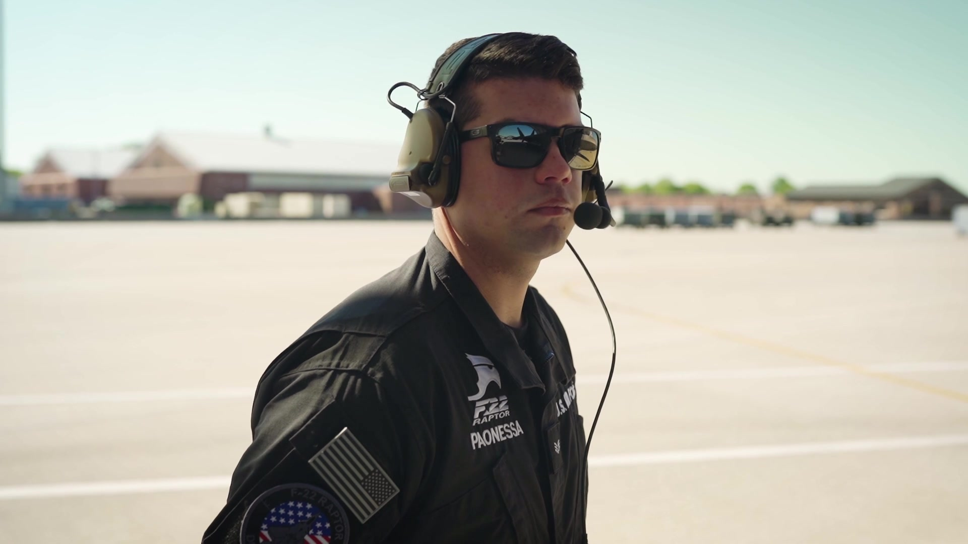 Video of F-22 Demo Team crew chief's