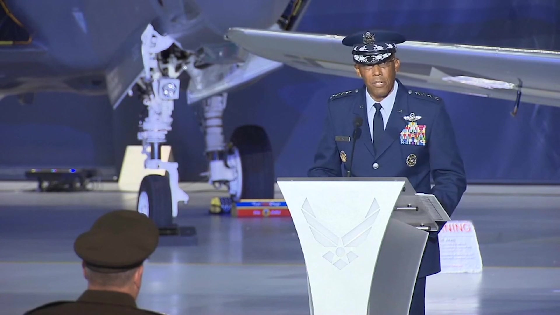 Today's look Around the Air Force highlights the change of command of the Chief of Staff of the Air Force as General Charles Brown assumes command.