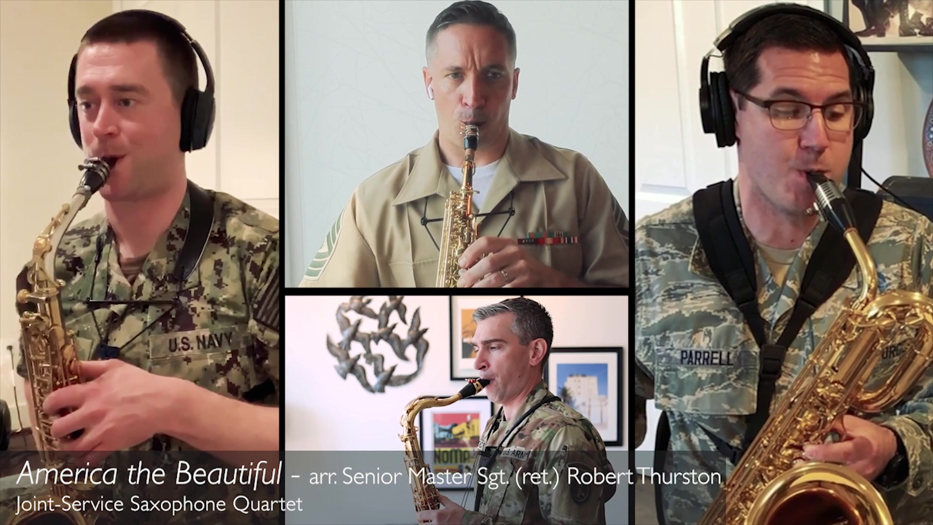 "One of our nation's most beloved patriotic American songs, ""America the Beautiful"" is a staple in the USAF Band performance repertoire.
