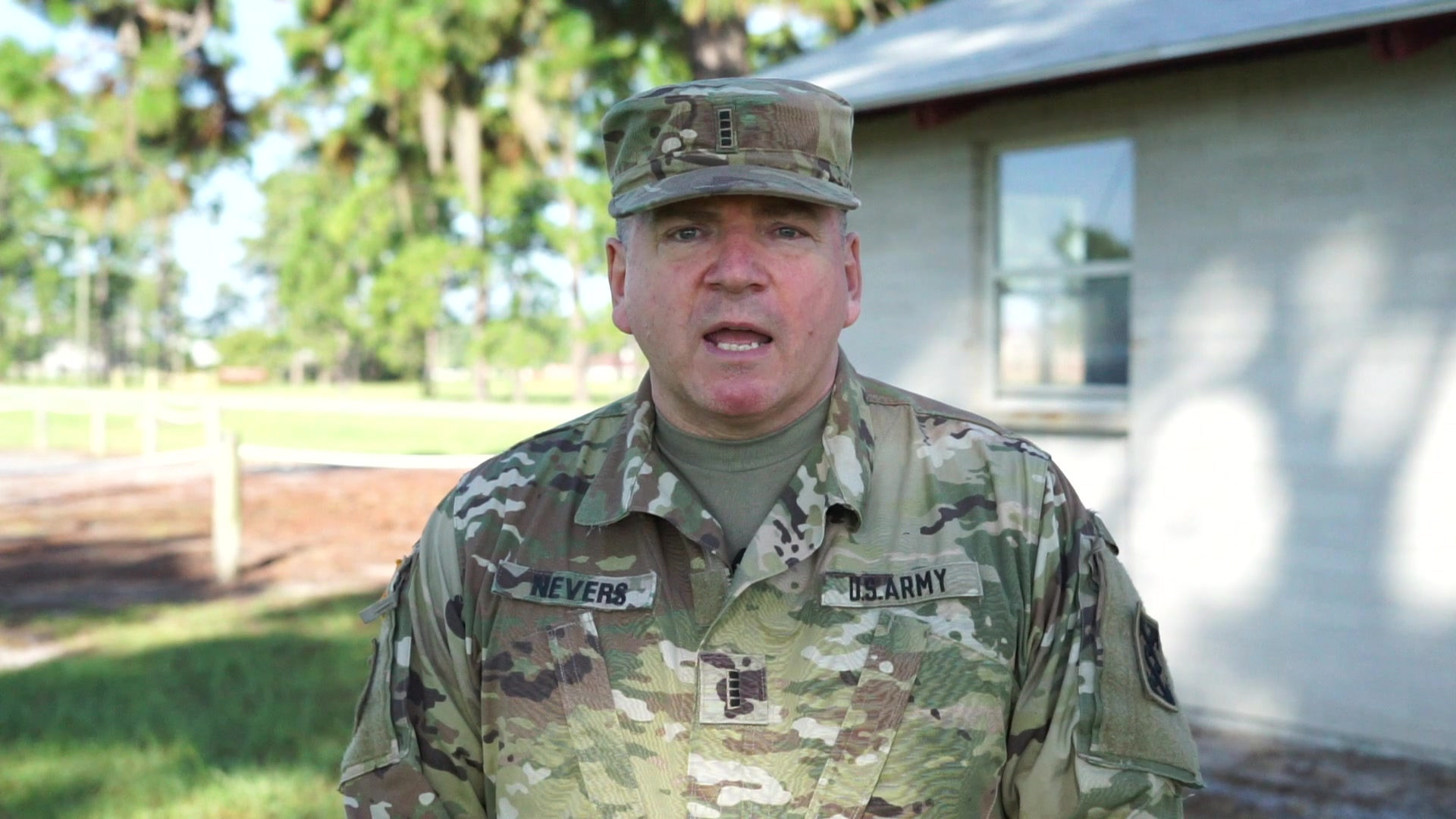Chief Warrant Officer 4 Ronald Nevers is an Army Reserve Soldier assigned to the 143d Sustainment Command (Expeditionary) serving as the Command Chief Warrant Officer (CCWO) in Orlando, Fla. In this interview, Nevers shares his role as the CCWO. (U.S. Army video by Spc. Leon Orange)
