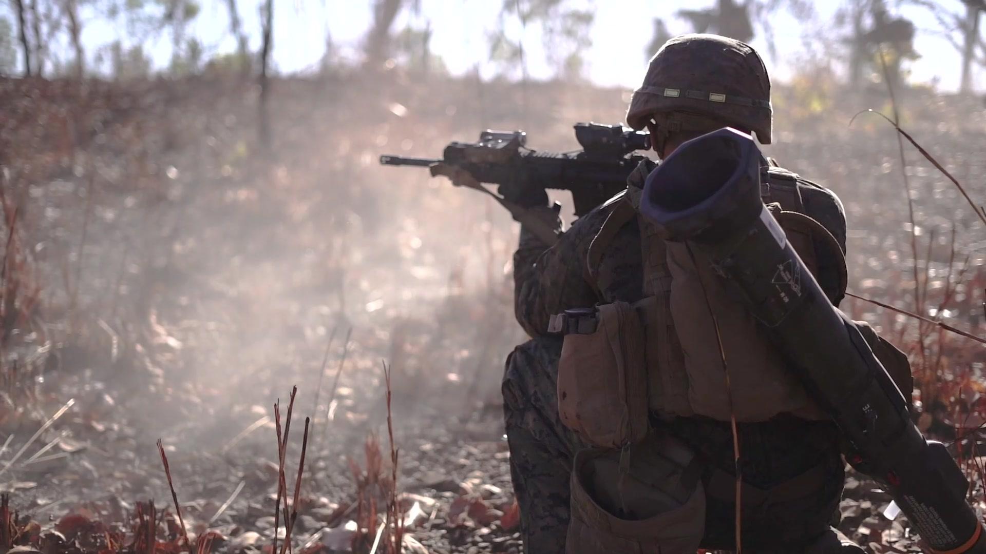 U.S. Marines • Kickstart Koolendong with Live Fire Exercise • NT Territory Australia Sept 5, 2020