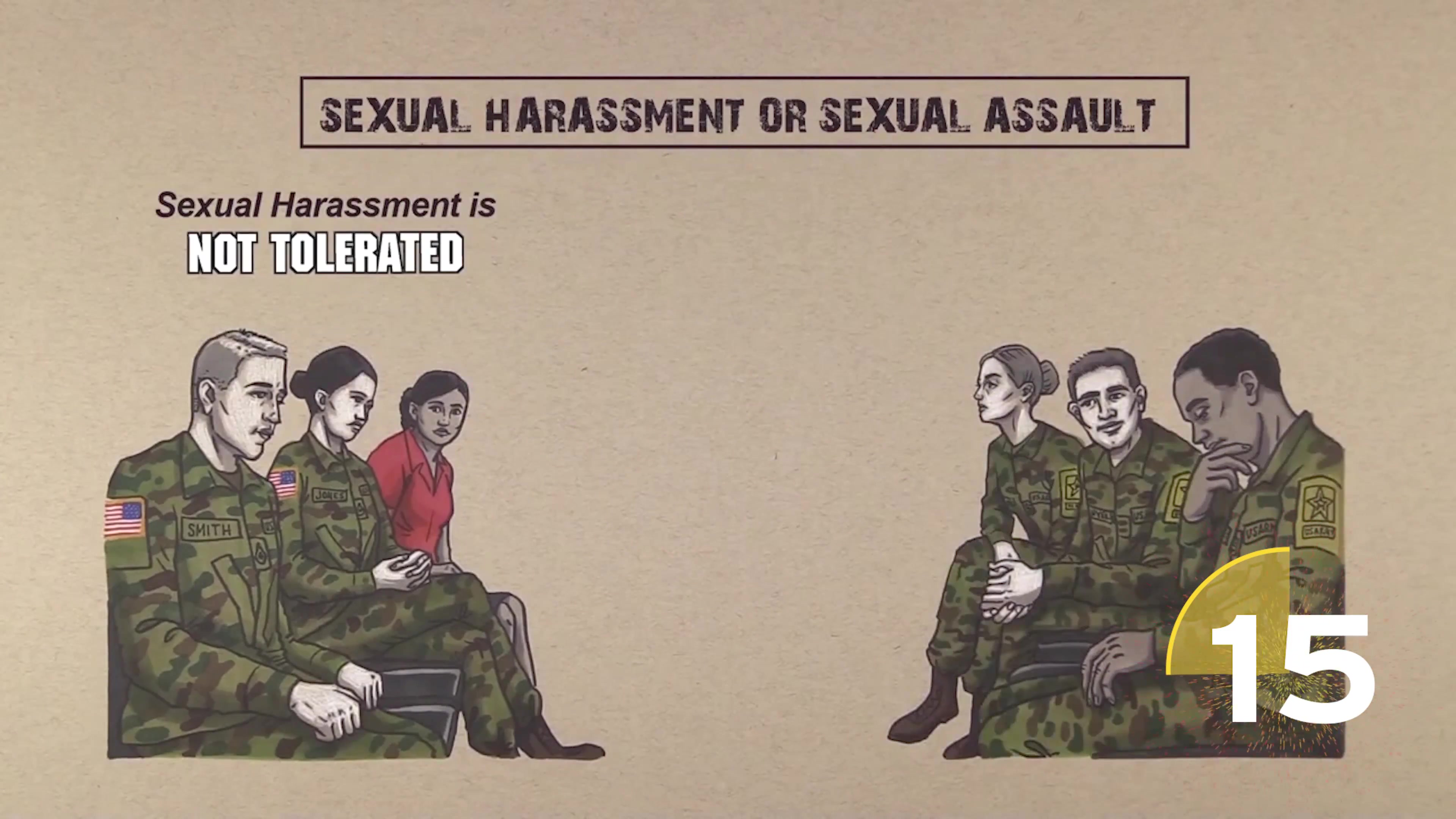 Sexual Harassment and Sexual Assault do not belong in the squads of our Army Reserve.