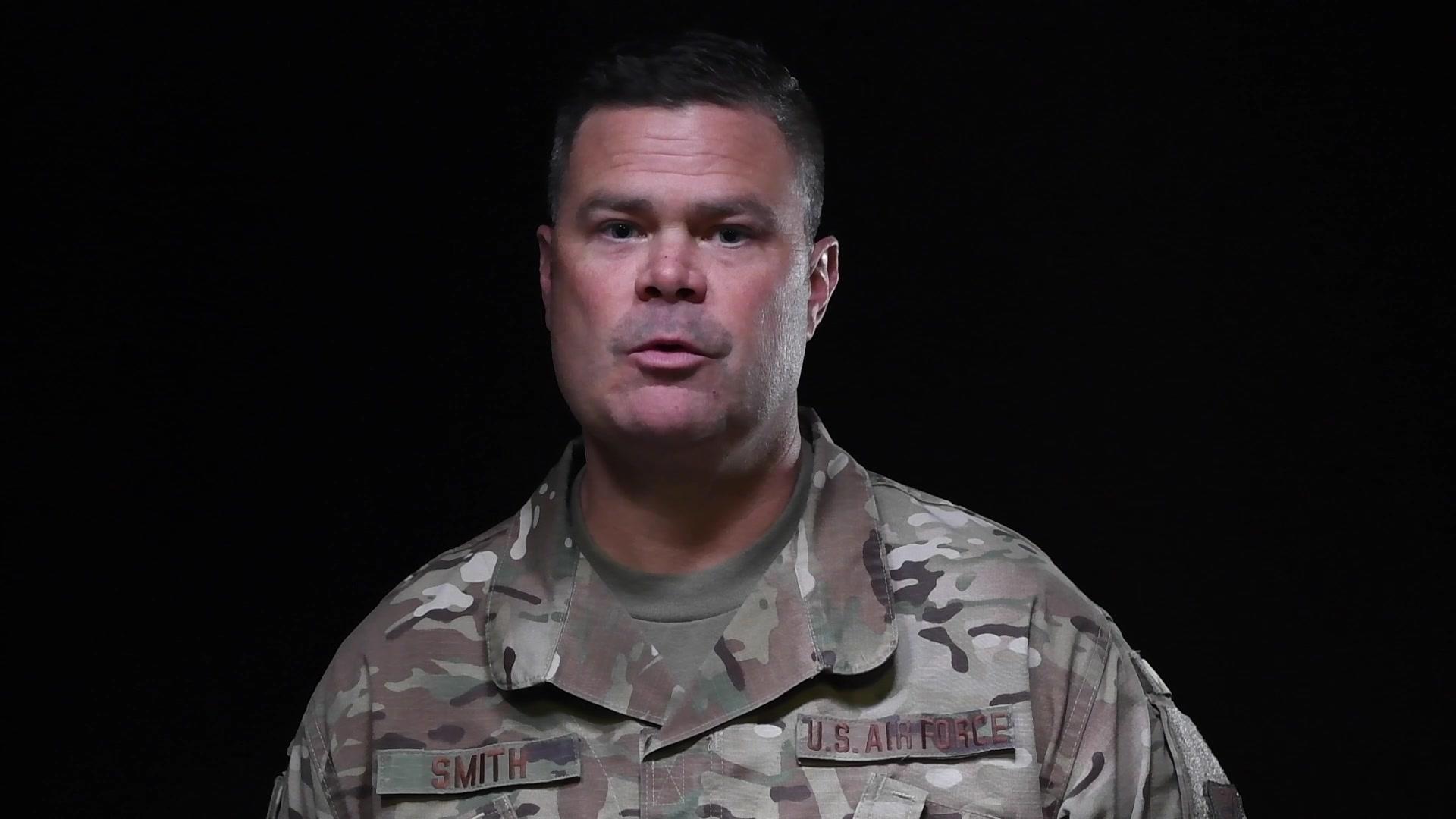 Video of Airmen from Davis-Monthan