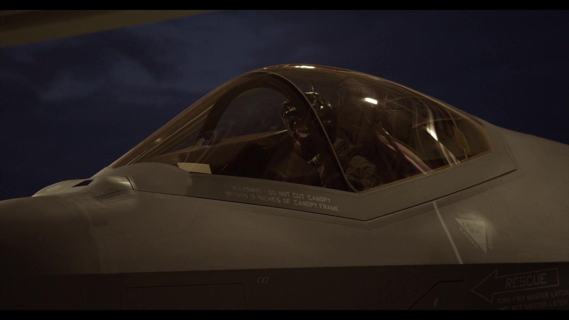 158th FW F-35A Lightning II b-roll footage.