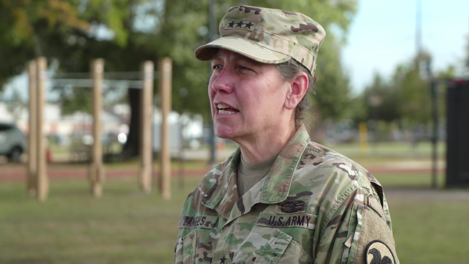 Lt. Gen. Jody Daniels, Chief of Army Reserve and Commanding General U.S. Army Reserve Command, gives a message about not letting our guards down as we approach the holiday season. COVID is still a threat and Soldiers and civilians should should continue to take appropriate steps to keep others and themselves safe.