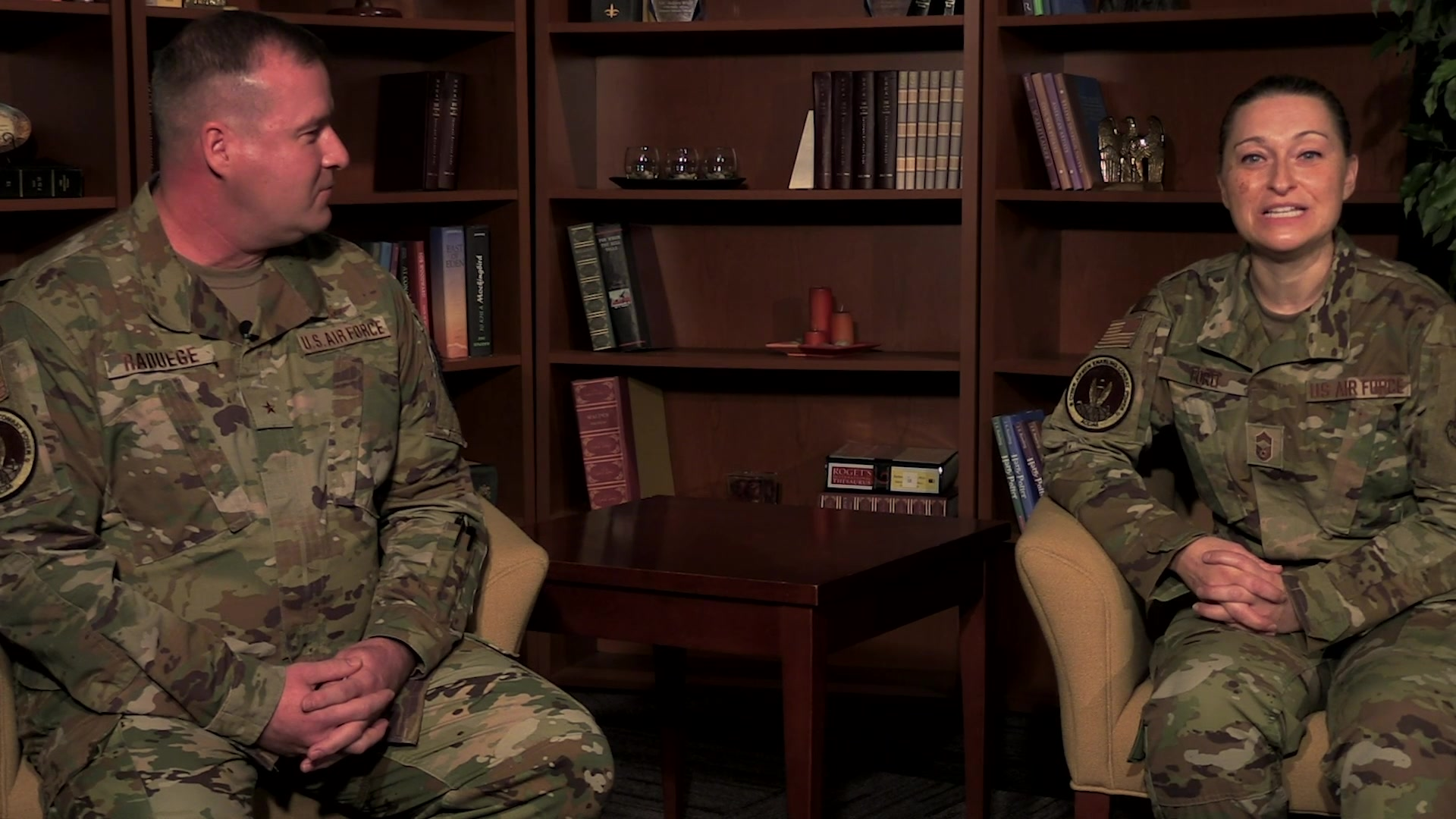 Video of  Air Force recently launched a program called Digital University