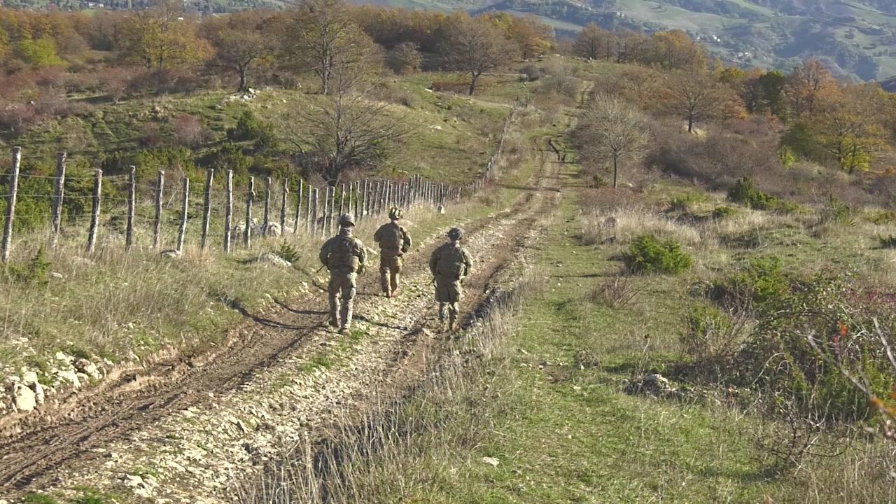 173rd Airborne Brigade held training in Monte Carpegna Italy