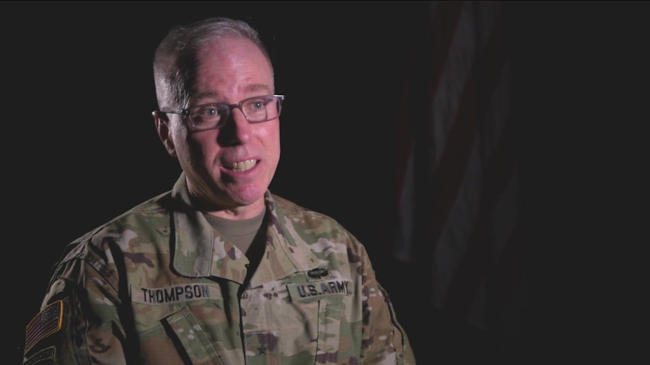 Brig Gen Thompson discusses COVID vaccine roll-out