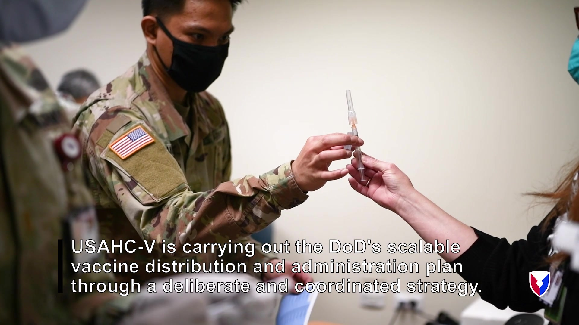 U.S. Army Health Center Vicenza administers COVID-19 vaccine