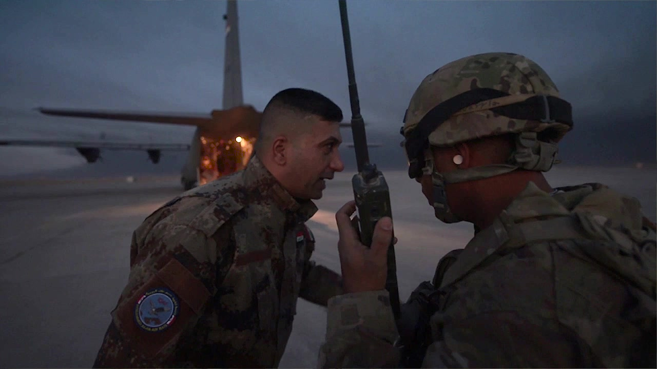 "Video of Commander, 9th Air Force (U.S. Air Forces Central), meaning and intent behind his priority, ""Forge Resolute Partnerships."""