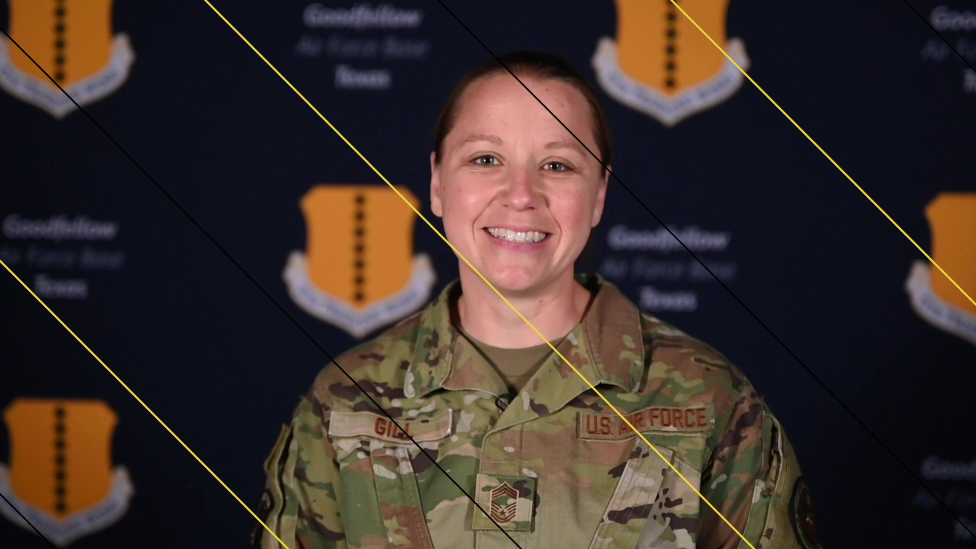 Meet Chief Master Sgt. Nicole Gill! She's the new superintendent for the 316th Training Squadron.