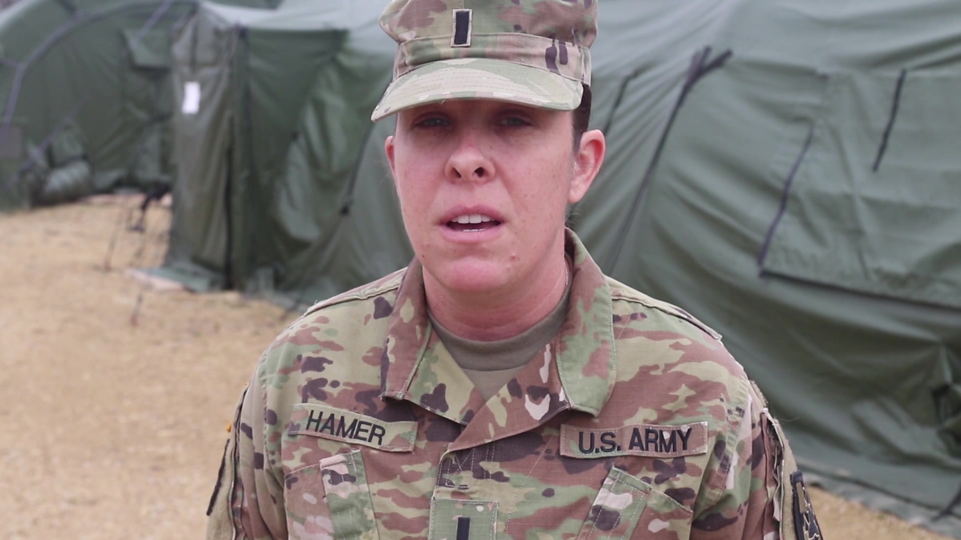 1st Lt. Danielle Hamer, medical-surgical nurse, 311th Field Hospital, shares what it's like to be a U.S. Army Reserve Soldier.