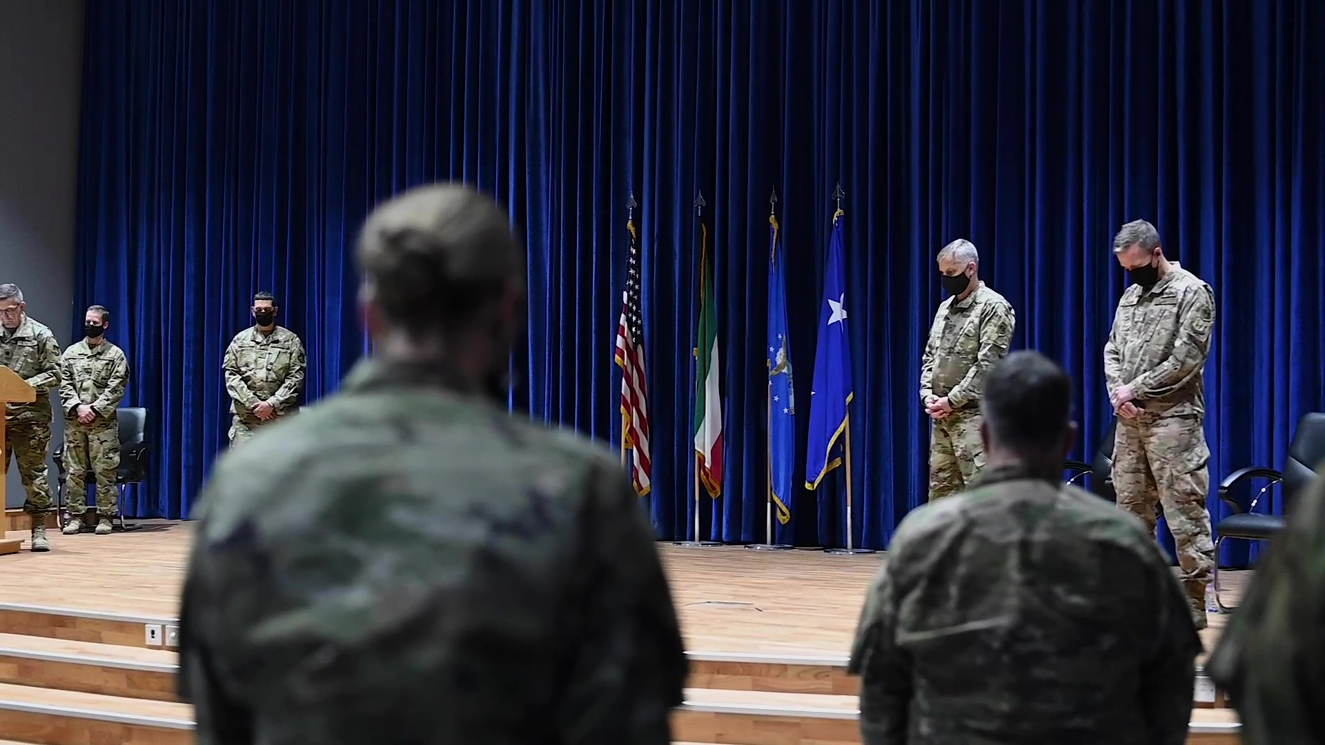 Video of 9th Air Expeditionary Task Force-Levant inactivation April 1, 2021,