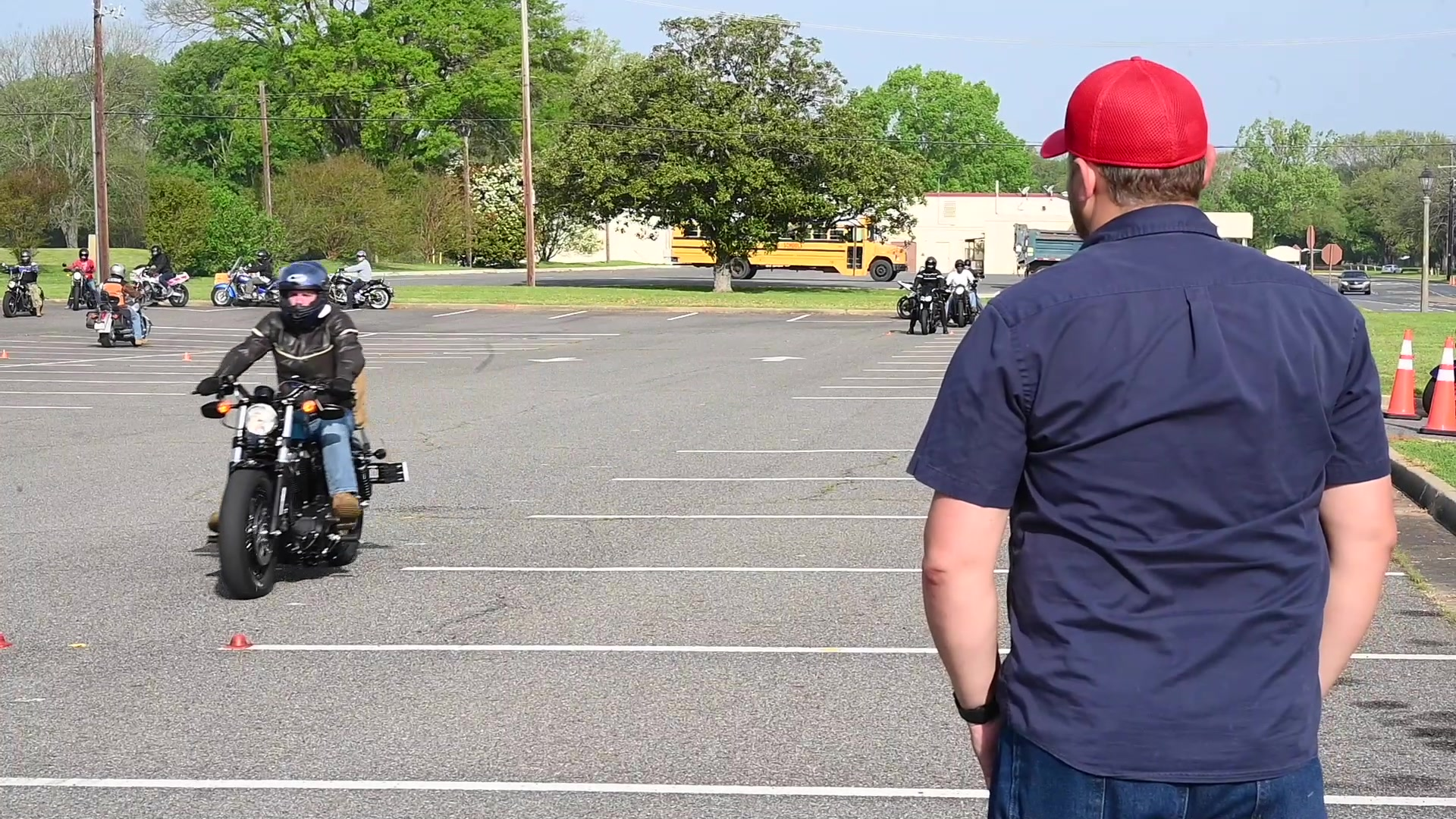 This video was created to spread awareness on motorcycle safety.