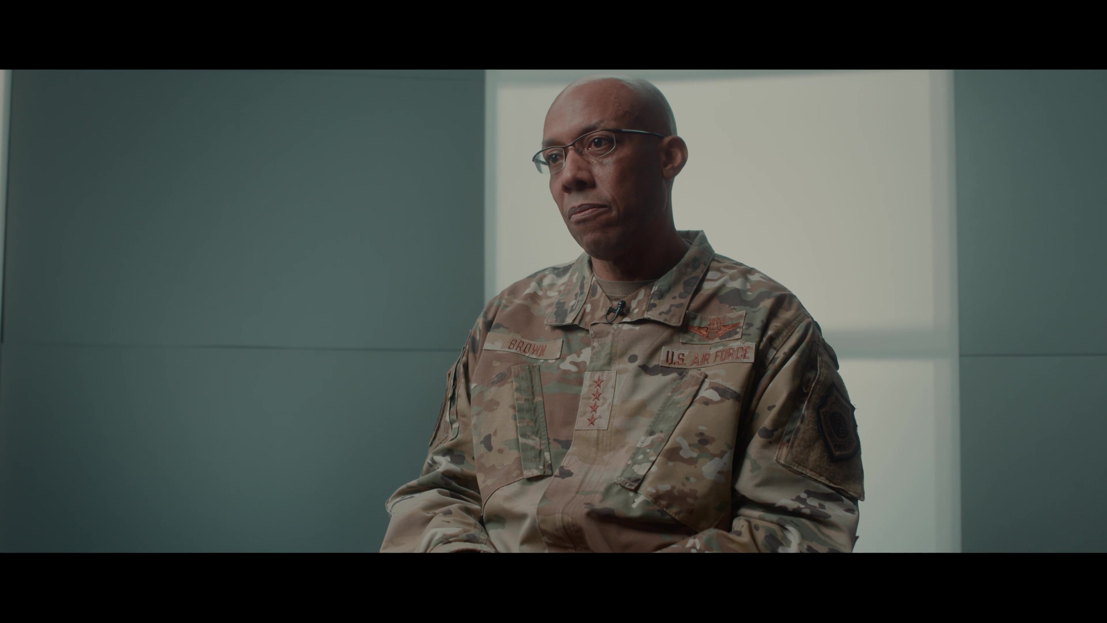 Video of Air Force Chief of Staff Gen. CQ Brown, Jr., talking about why we fight, within Air Force Doctrine Publication 1: