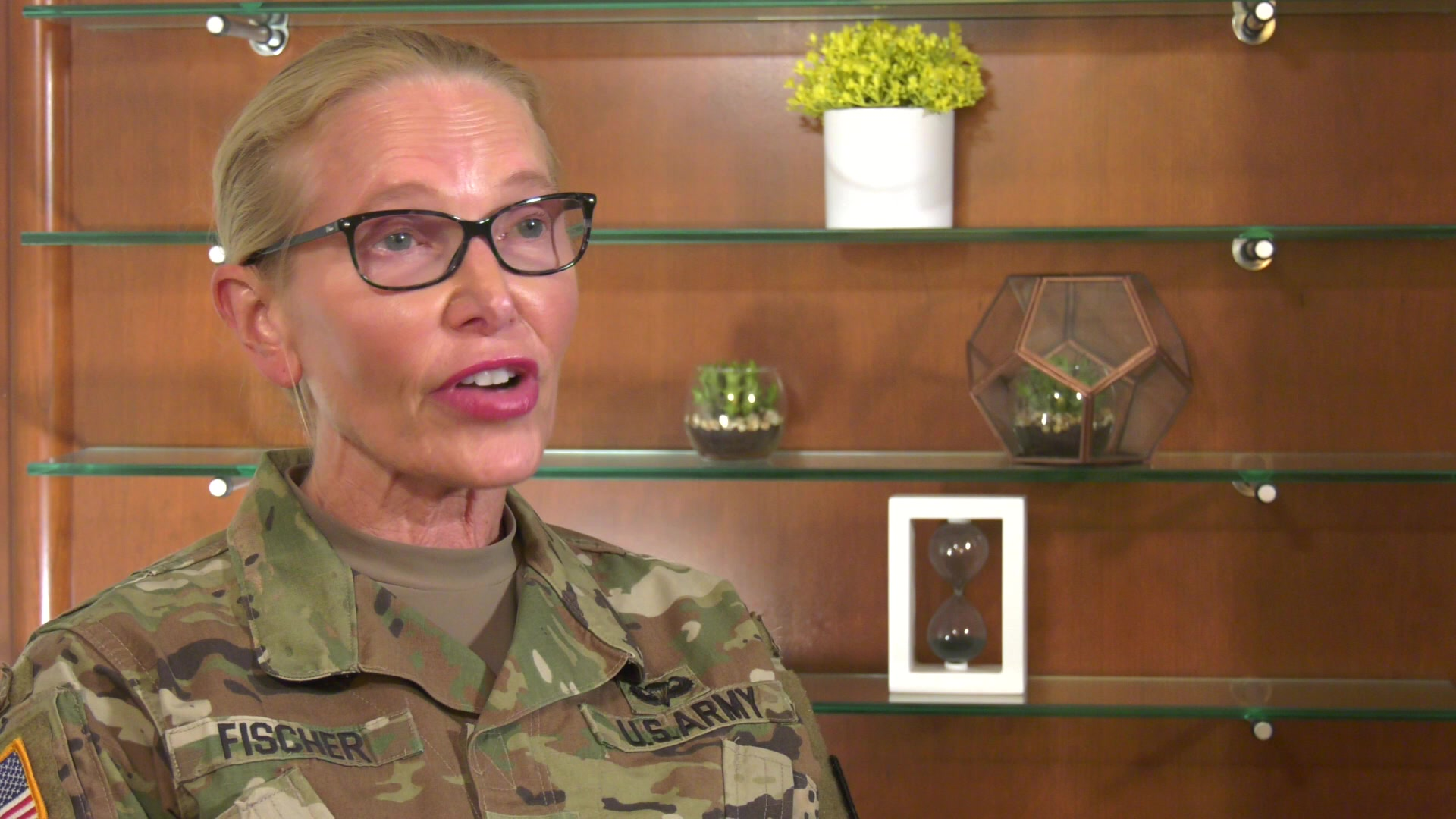 Col. Mary Fischer, Command Surgeon for the 377th Theater Sustainment Command and practicing physician in her civilian capacity, discusses her thought on the safety, effectiveness and importance of the COVID-19 vaccine.