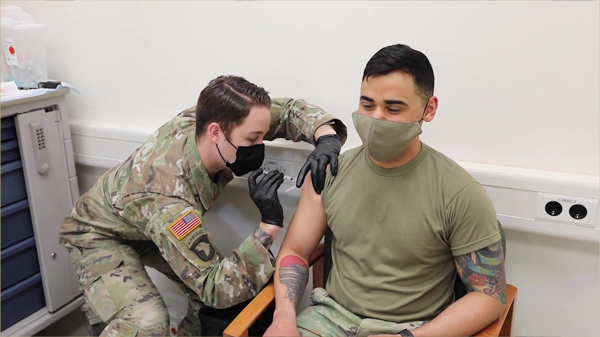 Senior Nurse Adviser for the 88th Readiness Division, Lt. Col. Daniel Gray, discusses the lifting of the pause for one of the vaccines for COVID-19. He also stresses the safety and importance of receiving the vaccine.