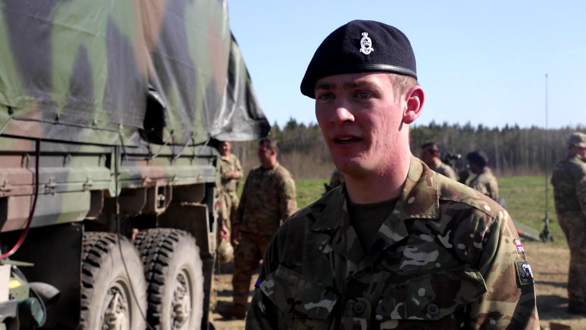 Know your DEFENDER: Gunner Luke Johnston