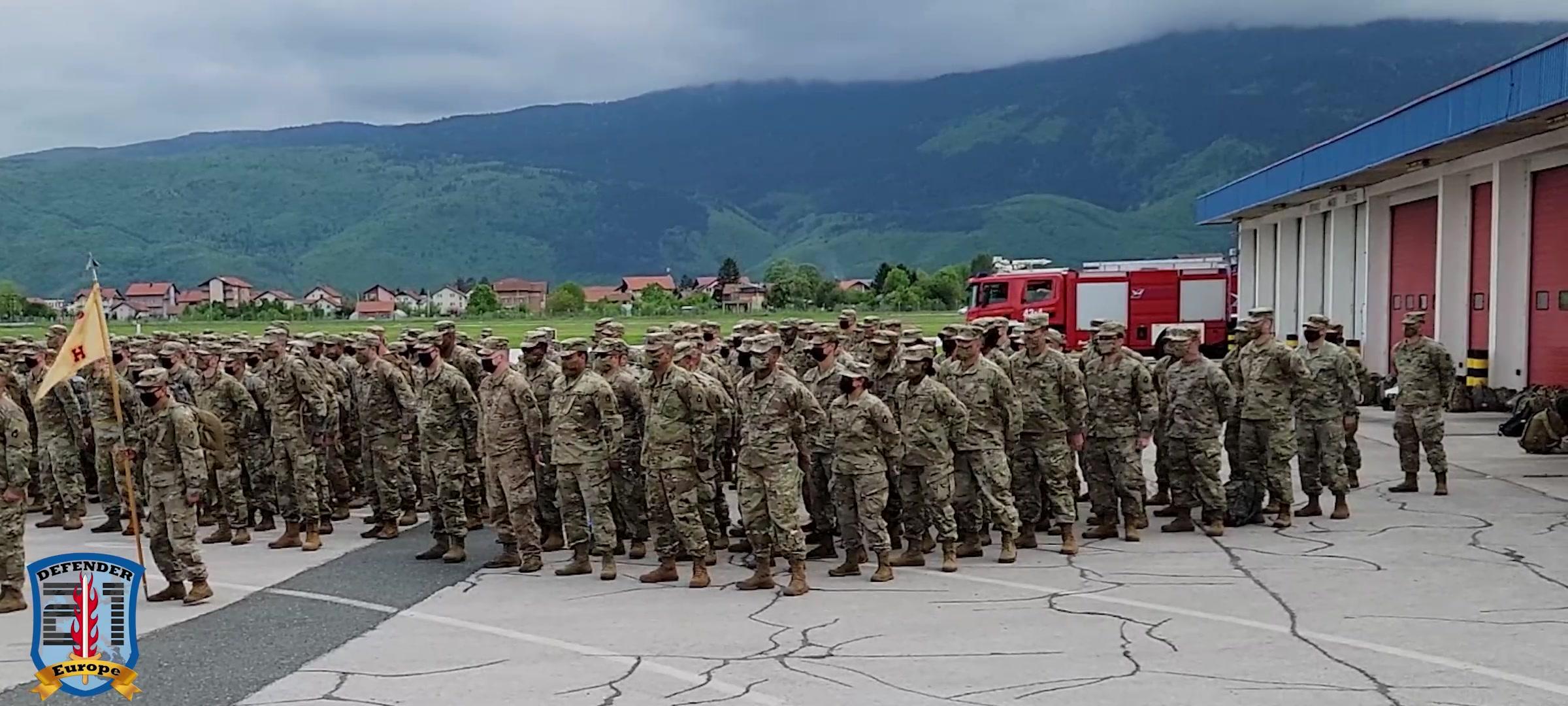 53rd IBCT arrives in Bosnia and Herzegovina