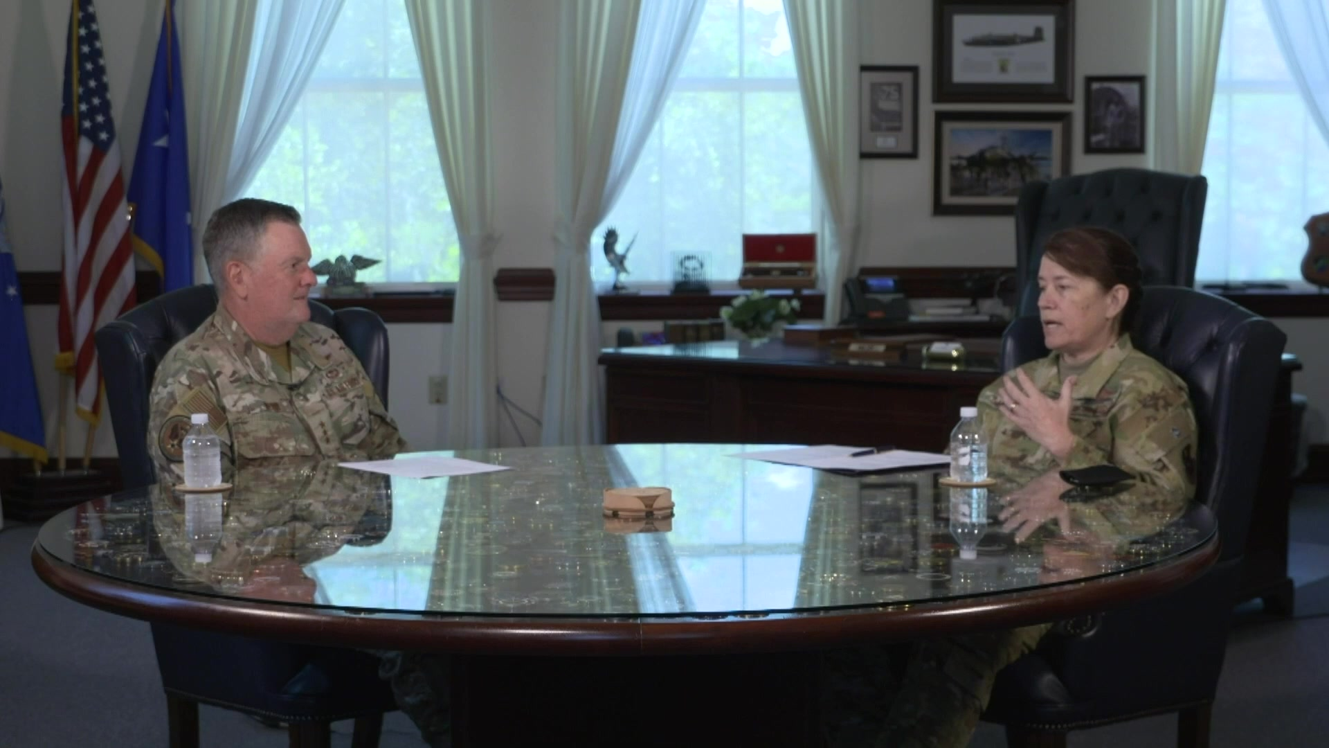 Lt. Gen. Brad Webb, commander of Air Education and Training Command, hosts the seventh episode of Real Talk: Race and Diversity in the Air Force, June 17th, 2021. Joining Lt. Gen. Webb for this episode will be: Brig. Gen. Brenda Cartier, Incoming AETC Director of Operations.