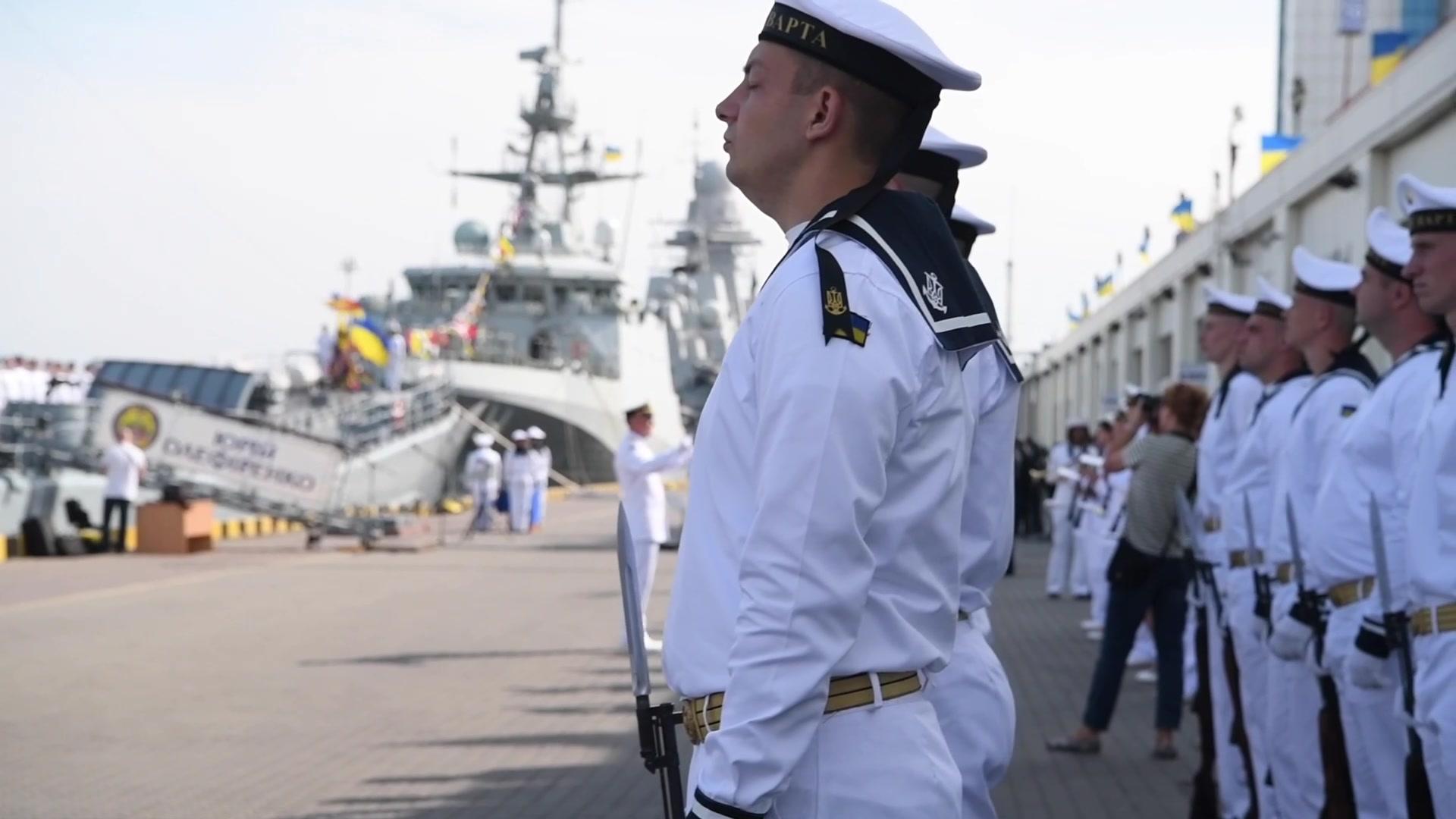 NATO Partners & Allies Take Part in Ukrainian Navy Day • ODESA Ukraine • July 5 2021