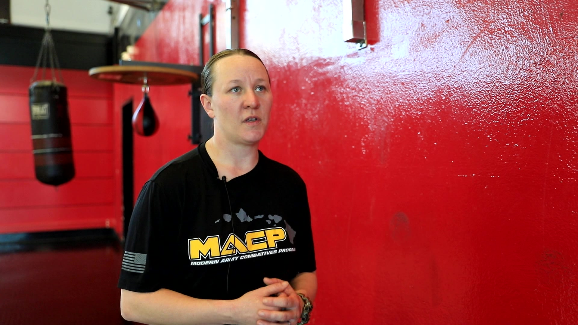 """U.S. Army Sgt. Sarah Schneider Chance once graced the octagon in the world of Mixed Martial Arts. She now finds purpose in uniform, serving her country in a mission """"bigger than herself."""""""