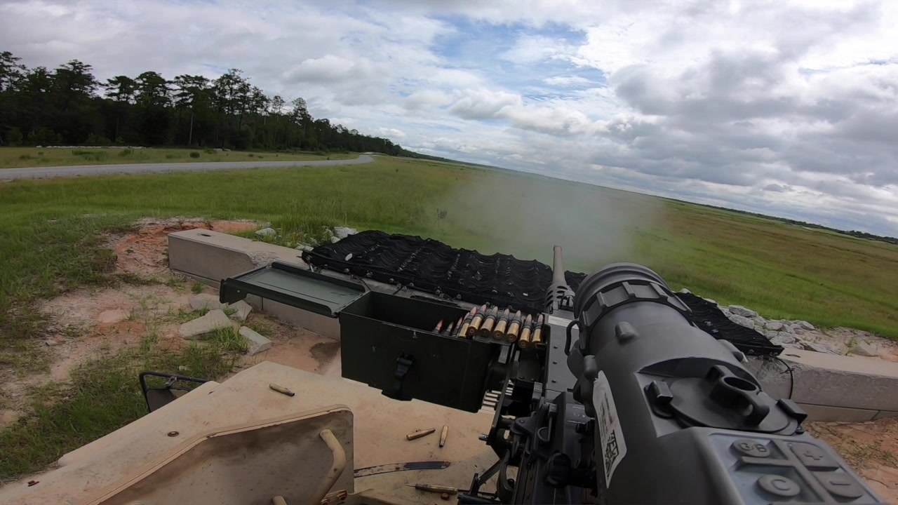 Army Reserve Soldiers from the 457th Chemical Battalion, 76th Operational Response Command, conduct platform gunnery operations at Fort Stewart, Georgia to increase Soldier battlefield survivability and lethality. (Official U.S. Army Reserve video by Sgt. 1st Class Brent C. Powell)