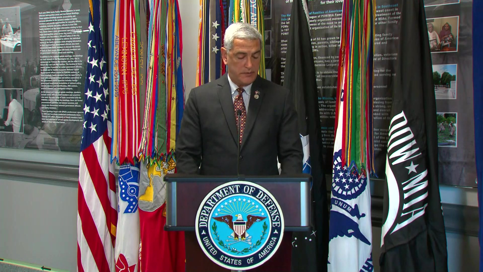 POW/MIA Poster Unveiling Ceremony.