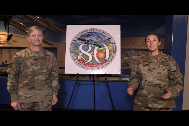 Robins 80 - Our Legacy, Our Future kicked off Sept. 1, 2021. The year-long campaign will celebrate the heritage of Robins Air Force Base, Georgia, which broke ground as an air depot, Sept. 1, 1941. (U.S. Air Force video by Paul Wenzel)