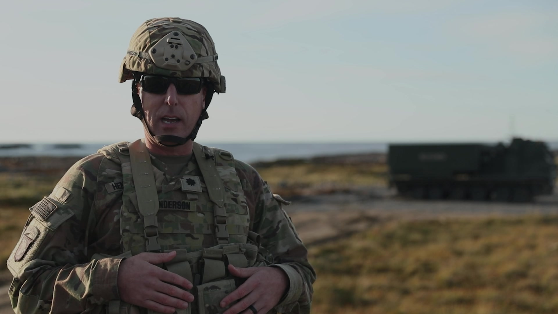 Thunder Cloud live-fire exercise, LTC Dave Henderson Interview