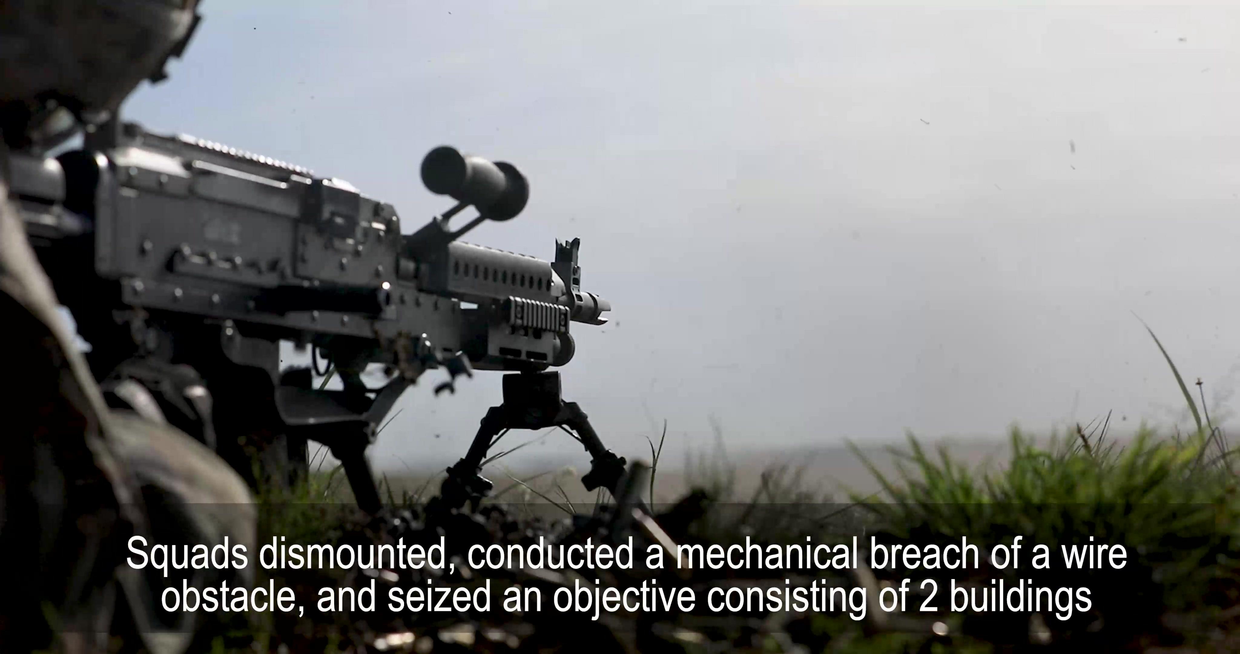 Fighting Aces conduct platoon live-fire at Bucierz range, DPTA