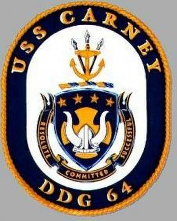 USS Carney (DDG 64) Homeport Shift