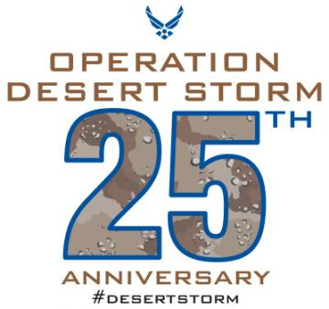 Operation Desert Storm 25th Anniversary - Air Force